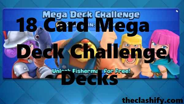 18 Card Mega Deck Challenge Decks