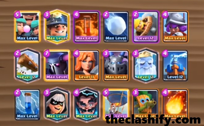 18 Card Pekka Balloon Mega Challenge Deck
