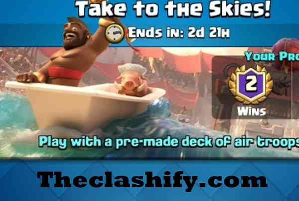 Clash Royale Take To the Skies Challenge Deck