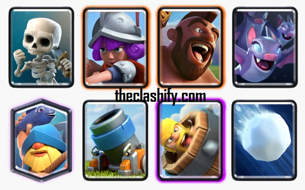 Clash Royale Hog Fisherman Deck Arena 10+ Deck