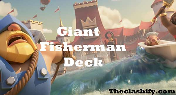 Prince Giant Fisherman Deck Arena 10+