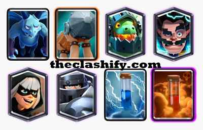 Mega Knight Battle Ram Deck Arena 11+