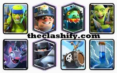 Mega Knight Skeleton Barrel Deck