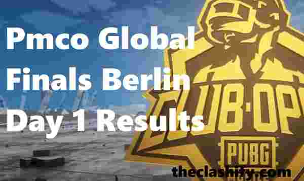 Pmco Global Finals Berlin Day 1 Results - Pmco Berlin Finals Day 1