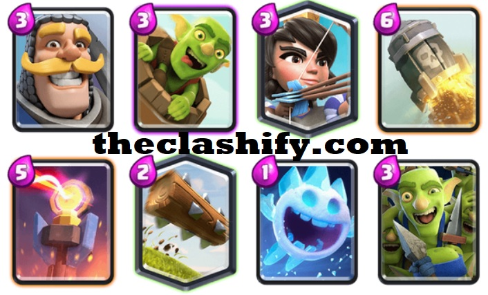 Princess Knight Goblin Barrel Deck Arena 10+