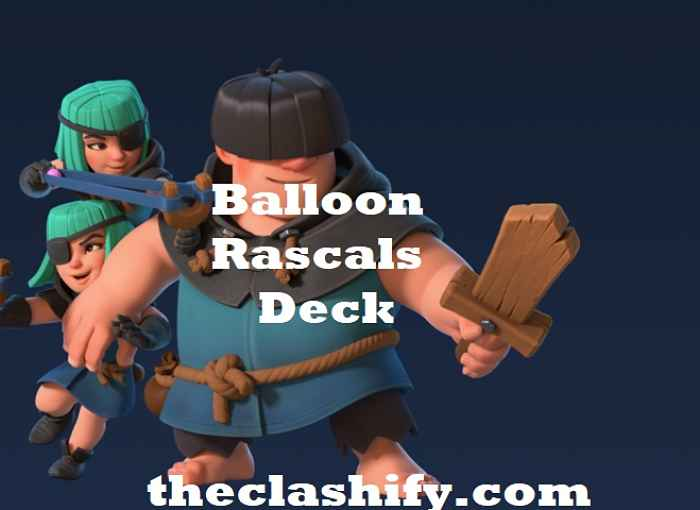 Clash Royale Rascals Balloon Deck Arena 10+ | Miner Loon Deck