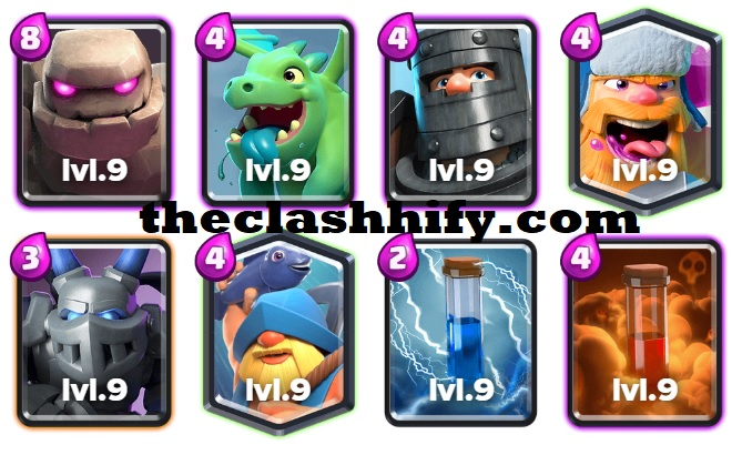 Golem Fisherman Deck Arena 10+