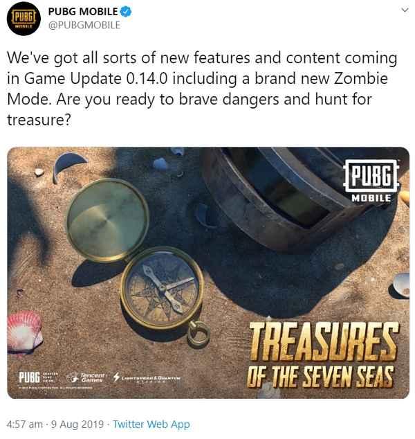 Pubg Mobile 0.14.0 Update Release Date