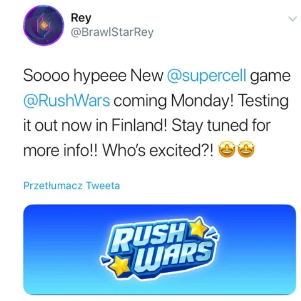 Supercell Rush Wars