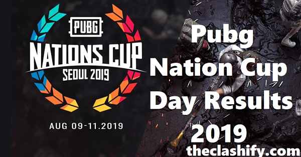 Pubg Nation Cup Day 2 Results