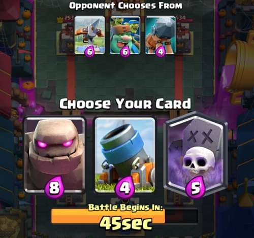 Clash Royale October Update 2019 - New Draft Mode Version