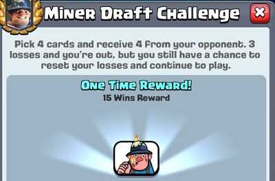 ow to win Miner Draft Challenge