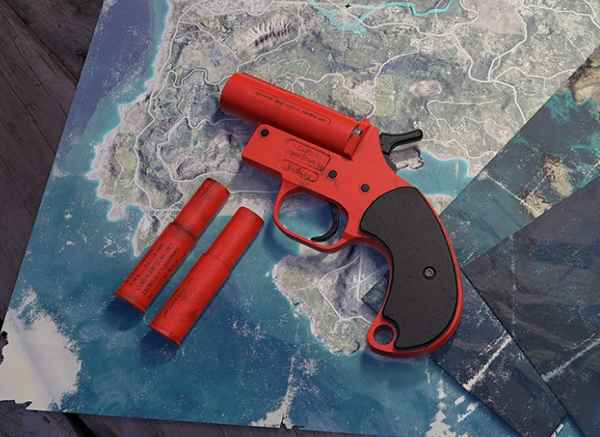 Pubg Mobile Flare Gun Location Erangel 2019 October