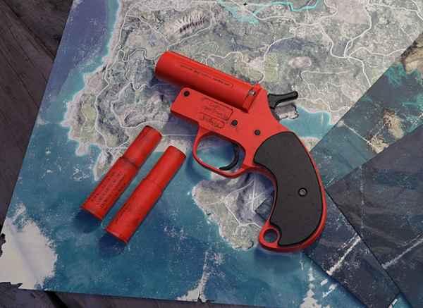 Pubg Mobile Flare Gun Location in Erangel