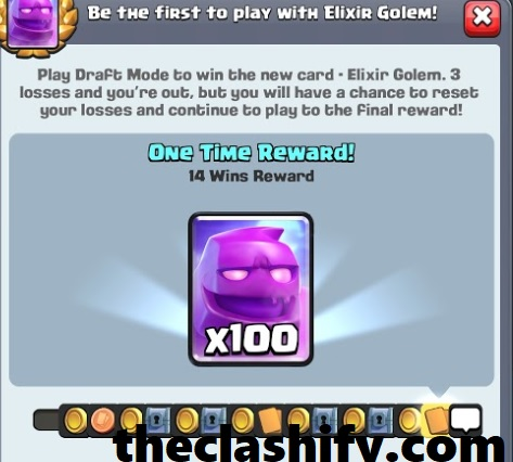 Clash Royale Elixir Golem Draft Challenge Tips 2019 October