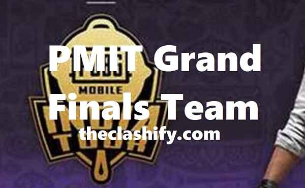 PMIT Grand Finals Team - PMIT Grand Finals Kolkata Schedule