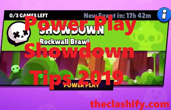 Power Play Showdown Tips 2019