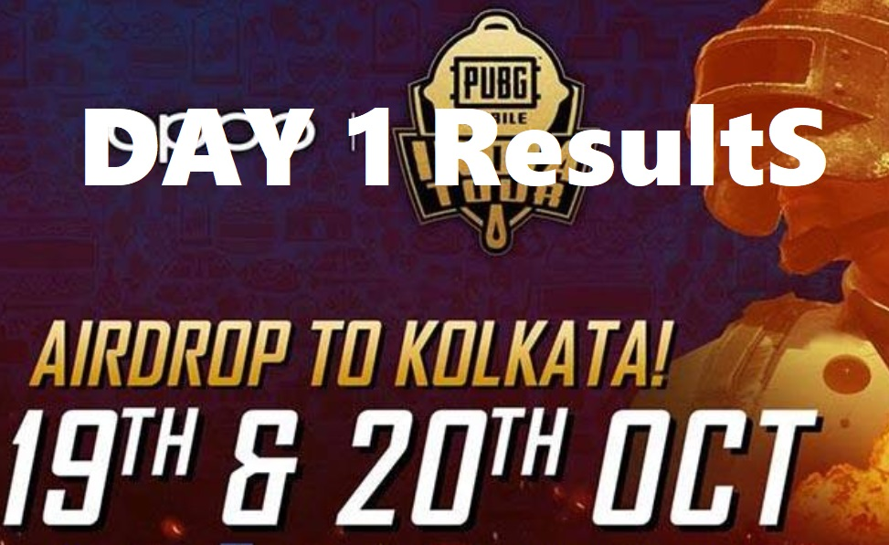 PMIT Finals Day 1 Results 2019