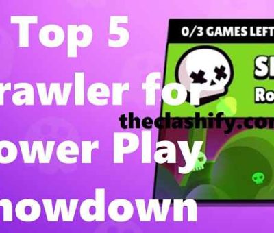 Top 5 Brawl Stars Brawler for Power Play Showdown
