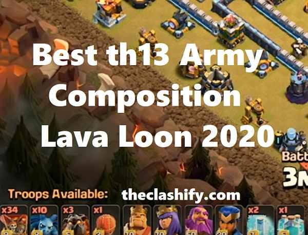 LavaLoon Th13 war Army