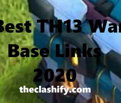 Best TH13 War Base Links 2020 | Best TH13 War Base Layouts 2020