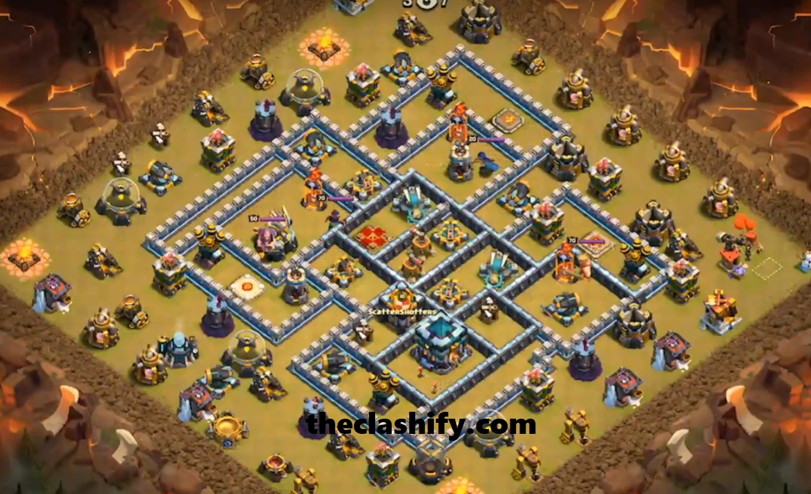 Best Th13 War Base 2019