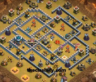 Th13 Anti 2 Star War Base 2020