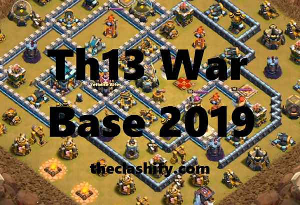 Top 5 Best Th13 War Base 2019 | Th13 Defence Base Layout 2019