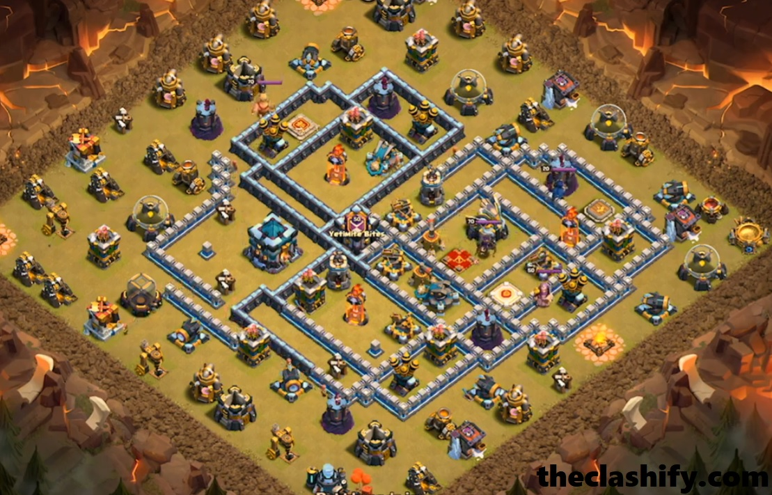 No.4  Th13 War Base 2019 | Th13 Defence Base Layout 2019