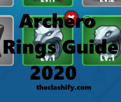 Archero Rings Damage Guide 2020