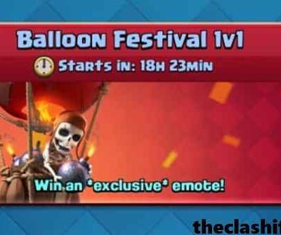 Top 10 Clash Royale Balloon Festival 1v1 Challenge Decks