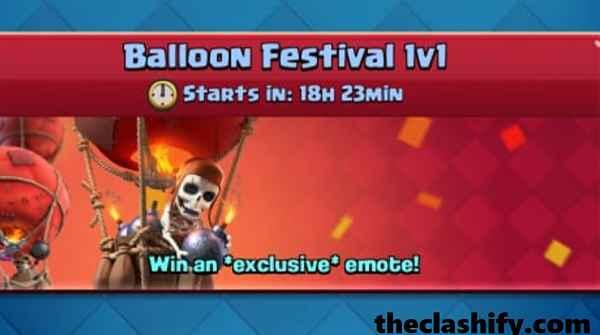Top 10 Clash Royale Balloon Festival 1v1 Challenge Decks