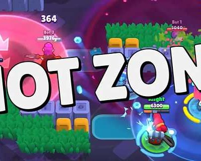New Brawl Stars Hot Zone Mode is coming January Update 2020 and New Brawl Stars Hot Zone Mode very diffrent mode in compare of current game mode available