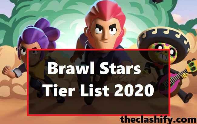 Brawl Stars Tier List January 2020