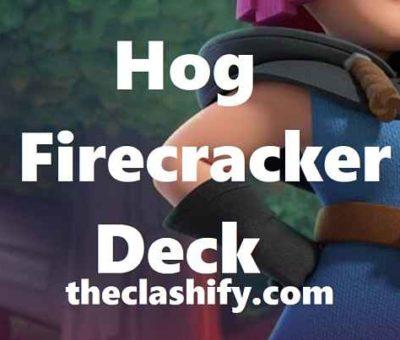 Clash Royale Mini Pekka Hog Firecracker Deck Arena 10+