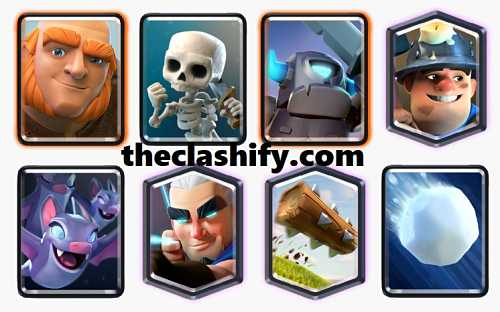 Giant Mini Pekka Magic Archer Deck