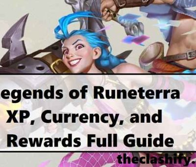 Legends of Runeterra XP rewards
