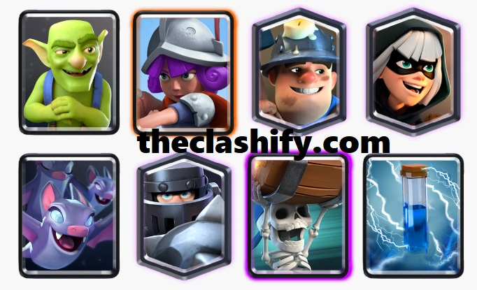 Mega Knight Wall Breaker Deck
