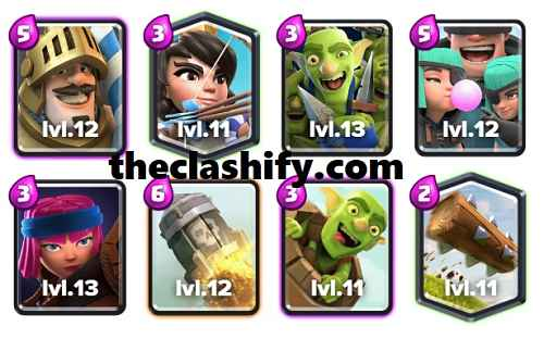 Prince Firecracker Log Bait Deck Arena 10
