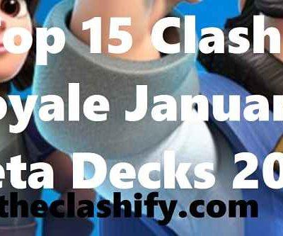 Clash Royale January Meta Decks 2020