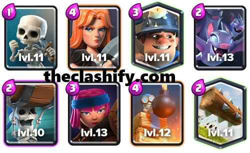 Wall Breakers Miner Firecracker Deck