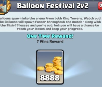 Clash Royale Balloon Festival 2v2 Challenge Decks