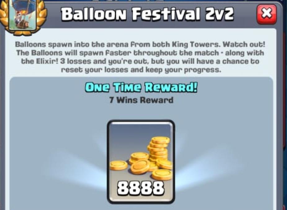 Clash Royale Balloon Festival 2v2 Challenge Decks