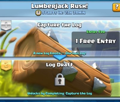 Clash Royale Log Draft Challenge Tips