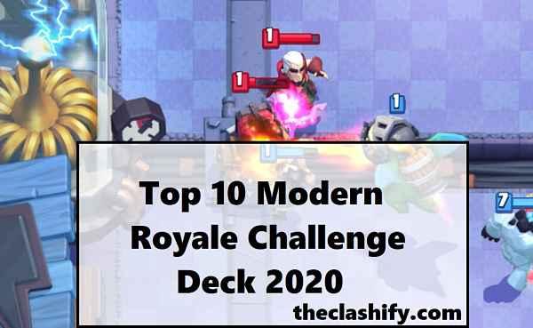 Modern Royale Challenge Deck 2020