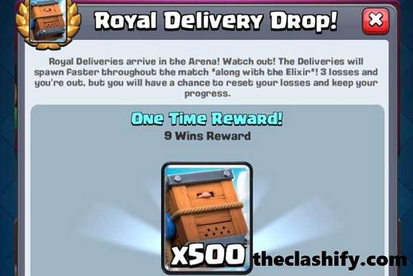 Best Royal Delivery Drop Challenge Decks