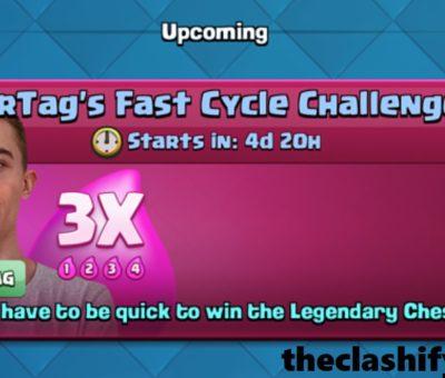 Clash Royale Triple Elixir SirTag Fast Cycle Challenge Deck