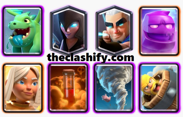 Battle Healer Elixir Golem Deck