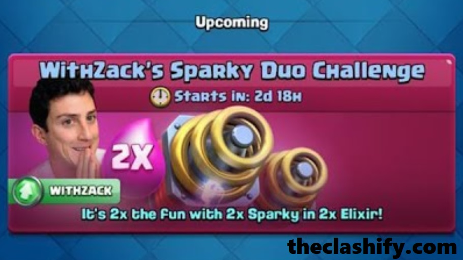 Clash Royale WithZack Sparky Duo Challenge Deck