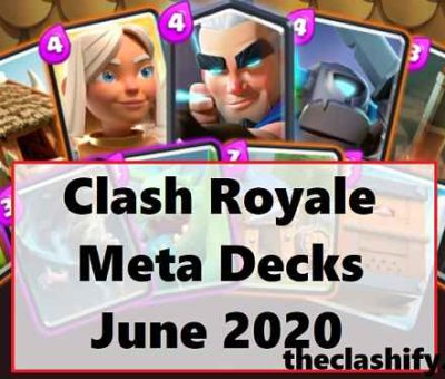 Clash Royale Meta Decks June 2020